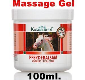 Asam Kraurerkof Pferdebalsam Massage Gel with Strong Warming Effect 100ml