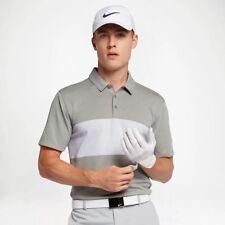 Nike Breathe Color Block Dri-fit Golf Polo Standard Fit 833067 063 Large