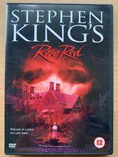Rose Red DVD 2001 Stephen King Horror TV Mini Series Rare UK 2-Disc Box Set
