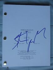STEVEN SPIELBERG SIGNED FULL RAIDERS OF THE LOST ARK FULL SCRIPT DC/COA (RARE)