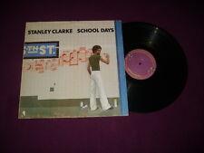 LP STANLEY CLARKE / SCHOOL DAYS / NEMPEROR 50.296 / JAZZ FUNK