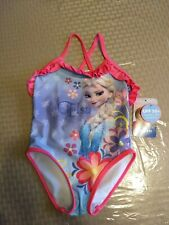 Toddler Girl 2T Elsa Frozen One-Piece Swimsuit~New~