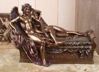 Amor und Psyche Skulptur Mythologie Antikstil Figurengruppe Liebespaar Veronese