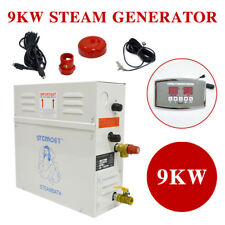 9KW Steam Generator Shower Sauna Bath Home Spa+ST-135M controller Humidifier