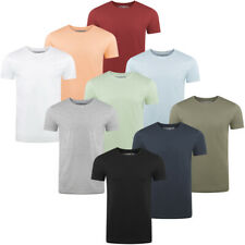 riverso Herren T-Shirt RIVAaron 4er Pack Rundhals Regular Uni 100% Bio Baumwolle