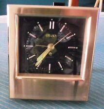 Citizen - Alarm Clock - Gold Colour /plated - Collectable Rare - fully working