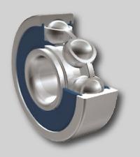 Pack of 10 ZEN 6204-2RS, Sealed Ball Bearing