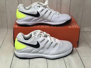 Nike Men's Air Zoom Vapor X HC Tennis Shoes Size 7.5 AA8030-107 White/Black-Volt