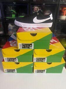 Nike SB Blazer Low Pro GT Black White-Black DC7695-002 Men's Size 8-11.5