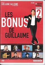 DVD ZONE 2--GUILLAUME GALLIENNE--LES BONUS DE GUILLAUME VOL 2