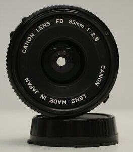 Canon 35mm f/2.8 FD Mount Lens