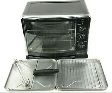 Hamilton Beach Countertop Oven with Convection, Rotisserie and Broil