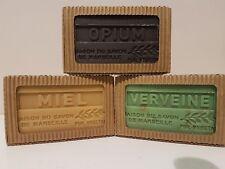 Artisanat de Provence 3 x 125 gr French Soap Men's Favorites Opium Verbena Honey