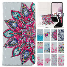For Samsung Galaxy S20 Plus/Ultra 5G/A71/A51/A01 Leather Card Wallet Case Cover