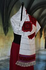 Traditional Tenejapa Rebozo / Belt Chiapas Mexico Hand Woven Mayan Boho Peasant