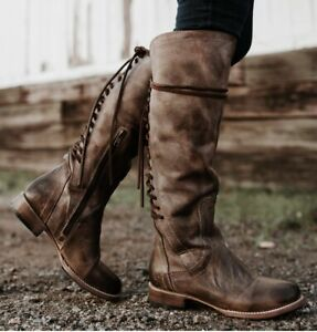 Freebird By Steven STAG BOOT NIB  Size 8 MSRP $395  Brown