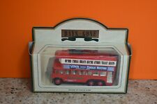 Lledo No 41015 - Diecast Model Of A 1928 Red Karrier E6 Trolley Bus - VENO'S