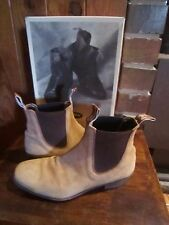 womens RM WILLIAMS nubuck leather dress style boots SZ 6 H CF  Fit SZ 9