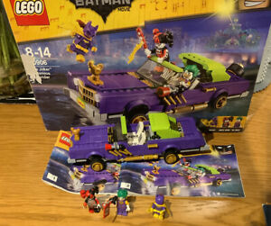 Lego Super Heroes 70906 THE JOKER NOTORIOUS LOWRIDER Rare Complete Quick Post