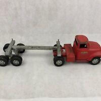 Vintage 1950s Tonka Log Hauler Transport Delivery Truck Pressed Steel Toy