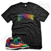"""BACKWOODS"" Sneaker T Shirt for Jordan 2 Multi Color Playground"