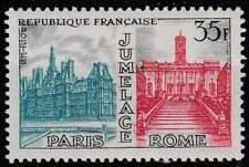 Frankrijk postfris 1958 MNH 1212 - Stadsvriendschap Parijs-Rome