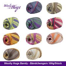 Woolly Hugs Bandy Bändchengarn Wolly Garn 100g/Stück Wolle Bändchen