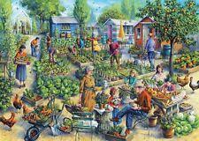 ! nuevo! Falcon De Luxe Green Street jardines nostálgico Rompecabezas De 1000 piezas