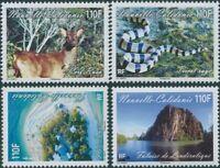 New Caledonia 2011 SG1542-1545 Landscapes and Fauna set MNH