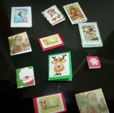 Christmas Cards 1:12 Scale Dollhouse Miniature by Reutter Porcelain