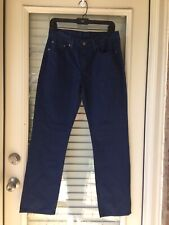 Coloured Levis 514 Slim Straight Leg Jeans W30 L30