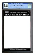 HOUSE OF SLAUGHTER #1 Cover D Sketch Var 💥 Guaranteed CGC 9.8 💥 10/27 PreSale