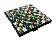 Pocket Travel Board Game Magnetic SNAKES & LADDERS Folding Board 13 x 13 cm