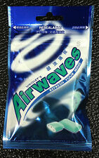 6x Wrigley's AIRWAVES 168g Chewing Gum LARGE PACKS 120x Pcs Menthol & Eucalyptus