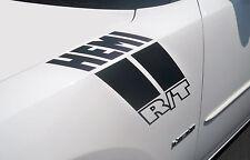 HEMI RT VINYL CAR FENDER STRIPES FITS DODGE CHARGER - V2