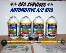 R12 SYSTEMS COMPATIBLE 4 REFRIGERANT 12a RECHARGE REFILL KIT FITS1994 and OLDER