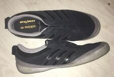 Adidas GOODYEAR STREET 2 Black Suede Trainers UK 12