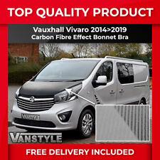 VAUXHALL VIVARO 14>19 CARBON BONNET BRA QUALITY FIT PROTECTOR COVER STONE GUARD
