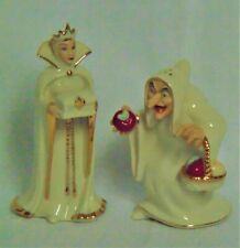 Lenox Snow White Salt & Pepper Shakers - The Evil Queen - Nib