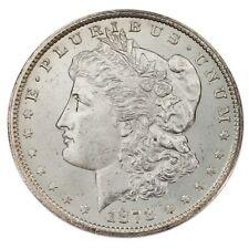 1878-CC $1 Morgan Silver Dollar in Choice BU Condition, Excellent Eye Appeal