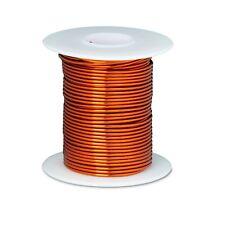 "18 AWG Gauge Enameled Copper Magnet Wire 8 oz 100' Length 0.0428"" 200C Natural"