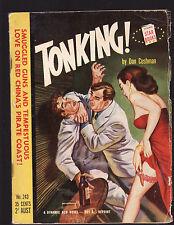 DAN CUSHMAN - TONKING !   FIRST AUSTRALIAN EDITION  pulp fiction
