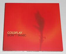 Vintage 2000 COLDPLAY Don't Panic Chris Martin Rock CD Import Single Holland