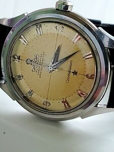 Vintage Omega Constellation Ref. 2852 Cal. 505 working.  Beautifully even patina