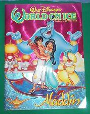 Walt Disneys World on Ice Aladdin Musical Tourbook Katalog Vintage 90er