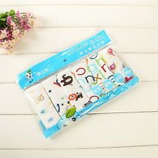 6pcs/set Cartoon Towels handkerchief Baby Swaddle Blanket Sheet Bath Towel