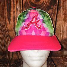 New Era Atlanta Braves Multicolor Trucker MLB Adjustable Hat