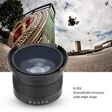 52mm 0.35x Fisheye Wide Angle Lens with Macro for Canon/Minolta/Sony SLR Camera