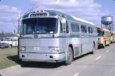 Kamme's Bus Service GM PD 4104 Bus Kodachrome original Kodak slide