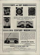 1946 PAPER AD 20th Century Coaster Wagon Henik & Sites S&S Melody Bank